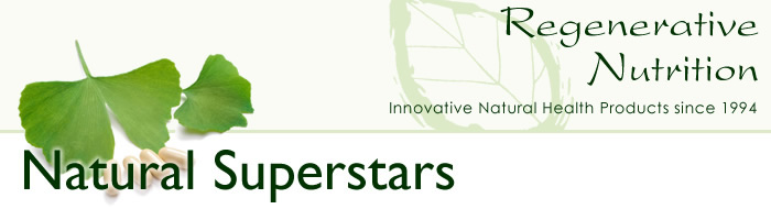 Natural Superstars from Regenerative Nutrition